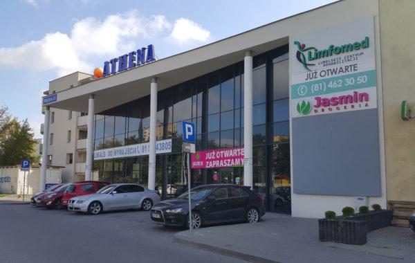 Minigaleria Athena w Lublinie przy ul. Wigilijnej 2A