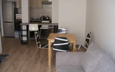 Chodźki 25 – mieszkanie na wynajem 50 mkw., 1 sypialnia, pokój dzienny z kuchnią
